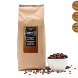 Ethiopian single origin organic coffee 1kg bag